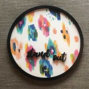 NWOT Urban Outfitters printed magnetic board